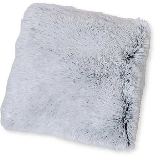 Wicotex Dekokissen kunstfell Snow 50x50cm weib schwarz Polyester hohe Stange