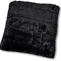 Wicotex Trow pillow jacquard Cube dark gray 50x50cm polyester