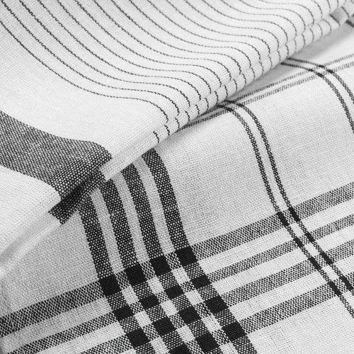 Wicotex Tea towels 50x70cm black 3 pieces