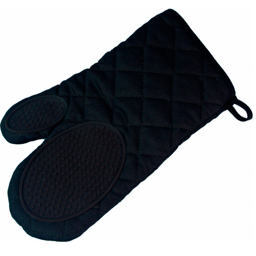 Wicotex Ofenhandschuh 30x18cm schwarz