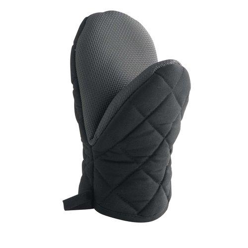Wicotex Ovenhandschoen 24x14cm zwart
