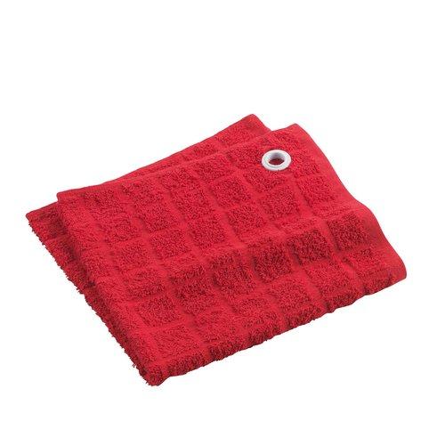 Wicotex Handtuch für die Küche 50x50cm rot