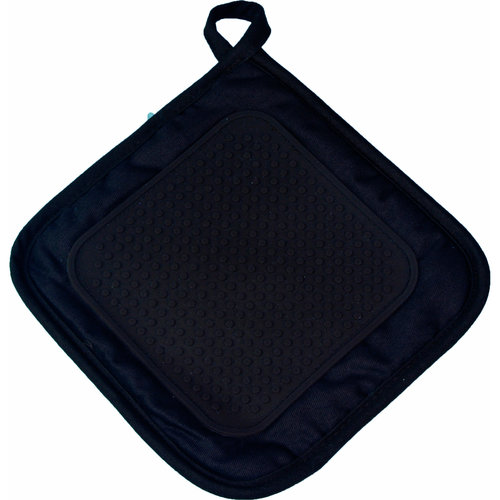 Wicotex Pannenlap 19x19cm zwart