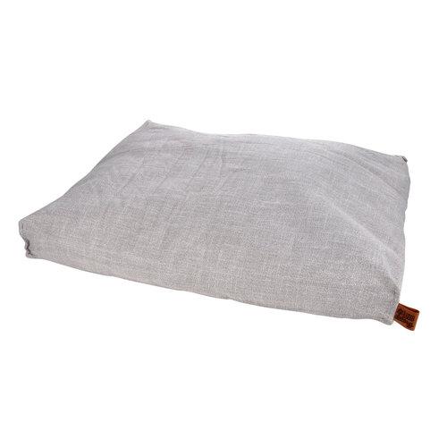 Hondenkussen-Hondenbed-Cosy 100x80cm licht grijs