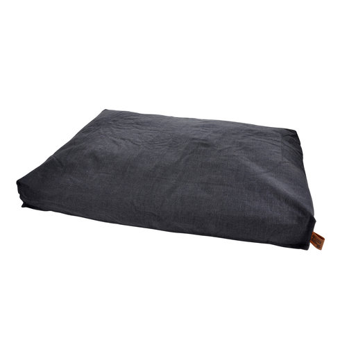Dog Cushion-Dog Bed-Cozy 100x80cm dark gray