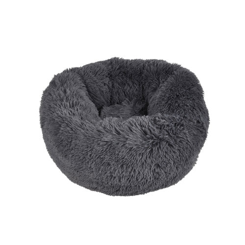 Cat basket-Dog basket-Fluffy around 55cm dark gray
