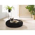 Katzenkorb-Hundekorb-Flauschig ca. 55cm schwarz
