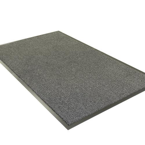 Doormat-entrance mat Faro 80x120cm black gray