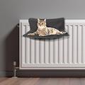 Kattenmand-Radiator-45x30cm donker grijs