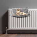 Kattenmand-Radiator-45x30cm licht grijs