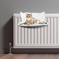 Katzenkorb-Kühler-45x30cm weiß