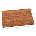 Cleaning mat coir natural 60x80cm
