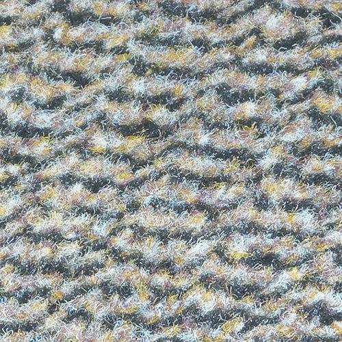 Deurmat-schoonloopmat Faro 60x80cm zwart beige