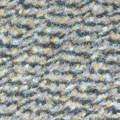 Faro 60x80cm cleaning mat black beige