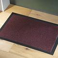 Faro 60x80cm clean mat black red