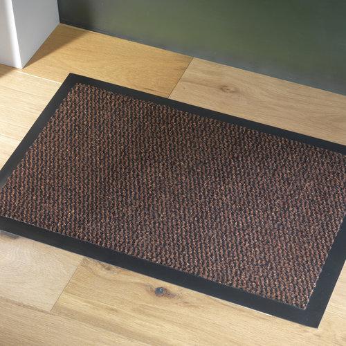 Faro 60x80cm cleaning mat black rust