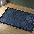 Deurmat-schoonloopmat Faro 40x60cm zwart blauw