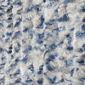 Fly curtain-cat tail-caravan- 56x180 cm blue white mix