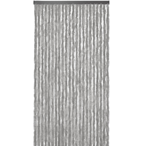 Fliegenvorhang-Katzenschwanz-Caravan- 56x180 cm grau