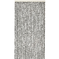 Fly curtain-cat tail-caravan- 56x180 cm black and white mix