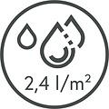 Dry-running mat Memphis Black 40X60cm