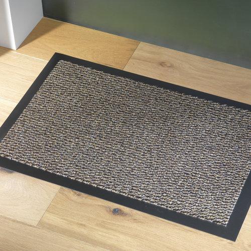 Reinigungsmatte Faro 40x60cm schwarz beige