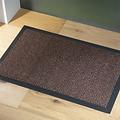 Deurmat-schoonloopmat Faro 40x60cm zwart roest