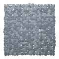 Wicotex Rutschfeste Duschmatte grau 53x53cm