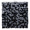 Wicotex Non-slip shower mat black 53x53cm