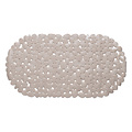 Wicotex Non-slip taupe bath mat 68x35cm