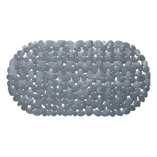Wicotex Non-slip gray bath mat 68x35cm