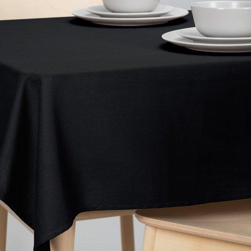 Tischdecke-Dordogne 160cm schwarz