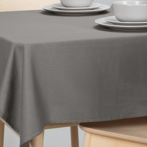 Tafellaken-Tafelkleed- Dordogne rond 160cm grijs