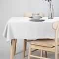 Tischdecke-Dordogne 140x250cm weiß