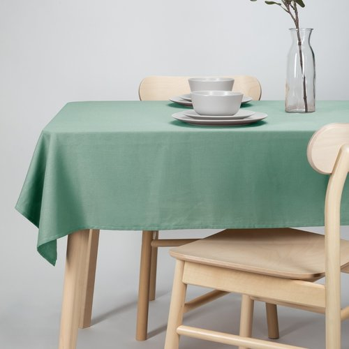 Tablecloth- Dordogne 140x250cm green