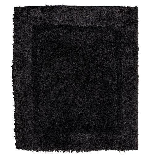 Badmat 60-37  zwart 60x90cm