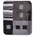 Bath mat 60-32 black-anthracite-white 60x90cm