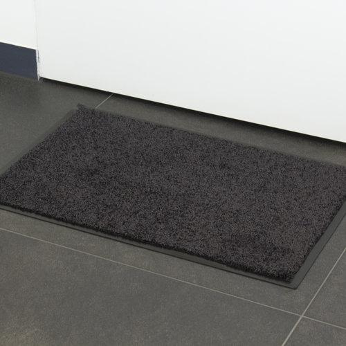 Wash & Clean 60x80cm black cleaning mat