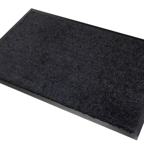 Wash & Clean 40x60cm cleaning mat black