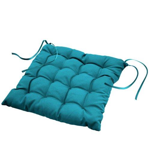 Chair cushion Essentiel aqua 40cmx40cmx7cm