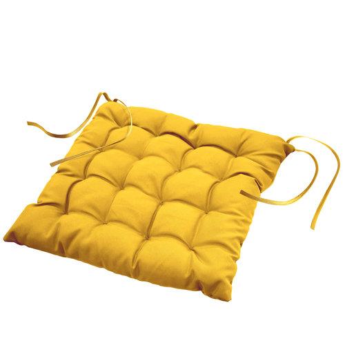 Stuhlkissen Essentiel gelb 40cmx40cmx7cm