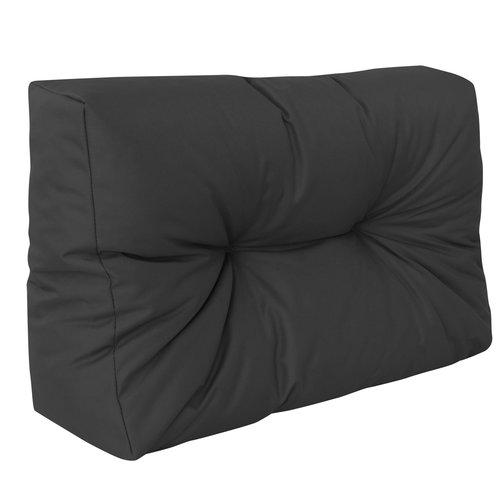 Palletkussen Basic comfort Waterafstotend halve pallet lengte zwart  60x40x10/20cm