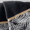 Towel Orbella 50x90cm color black 100% cotton