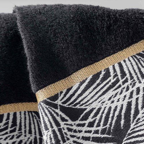 Handdoek  Orbella  kleur zwart 100%katoen