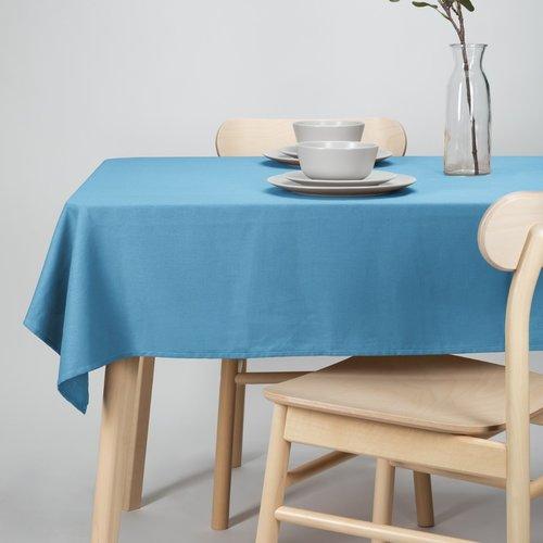 Tischdecke-Dordogne 140x250cm blau