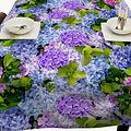 Tafelkleed Hortensia 140x250 cm