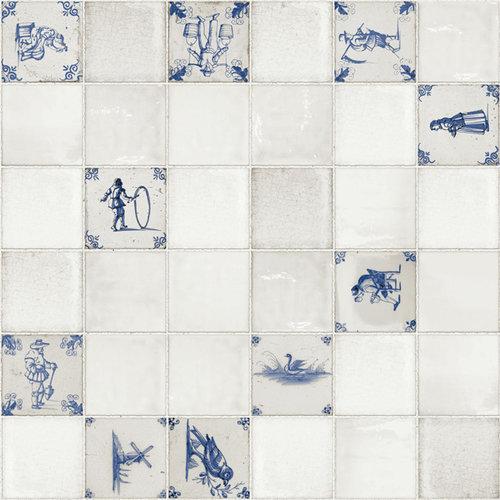 PVC Oilcloth Delft
