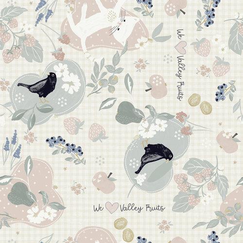 PVC Oilcloth birds