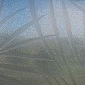 Fensterfolie statisch gegen Betrachtung Textil palmen grau 46cm x 20m