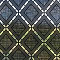 Window film static-anti-viewing Textile Rhombus black 46cm x 1.5m